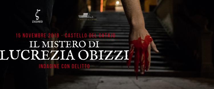 Indagine con delitto il 15 novembre al Castello del Catajo